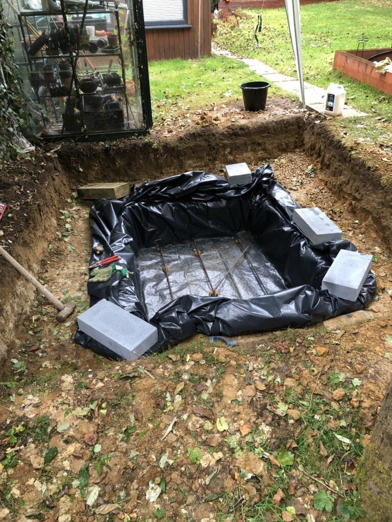 DIY Hot Tub Liner