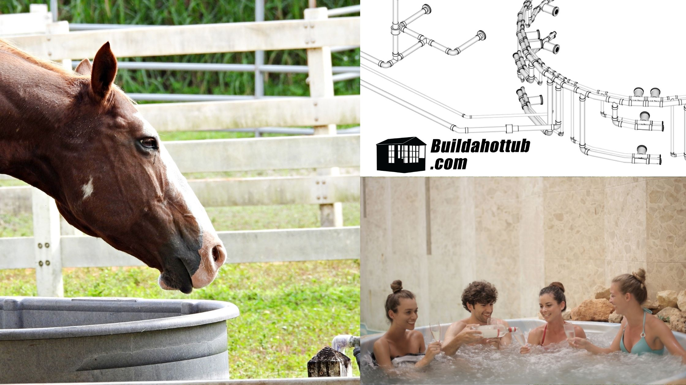 Horse Trough Hot Tub