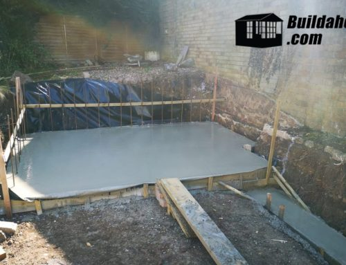 How to build a Concrete Slab or base for your Hot Tub?